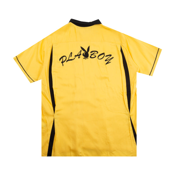 Supreme Yellow Playboy Bowling Top