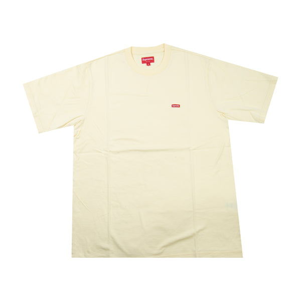 Supreme Yellow Small Box Logo Tee