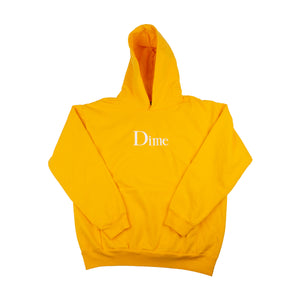 Dime Gold Classic Logo Hoodie