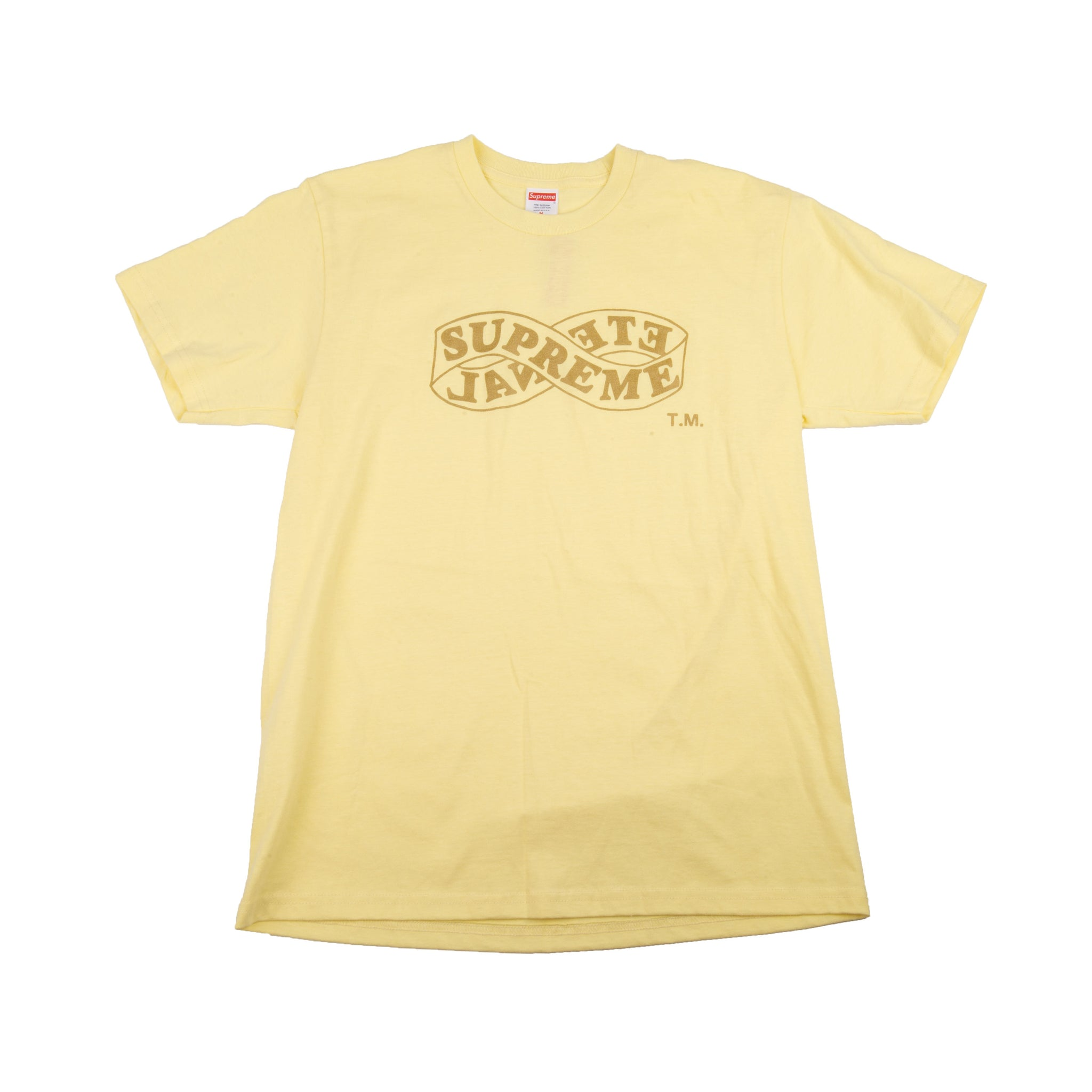 Supreme Pale Yellow Eternal Tee