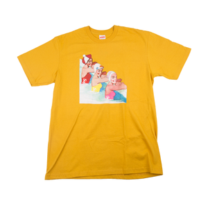 Supreme Mustard Swimmers Tee