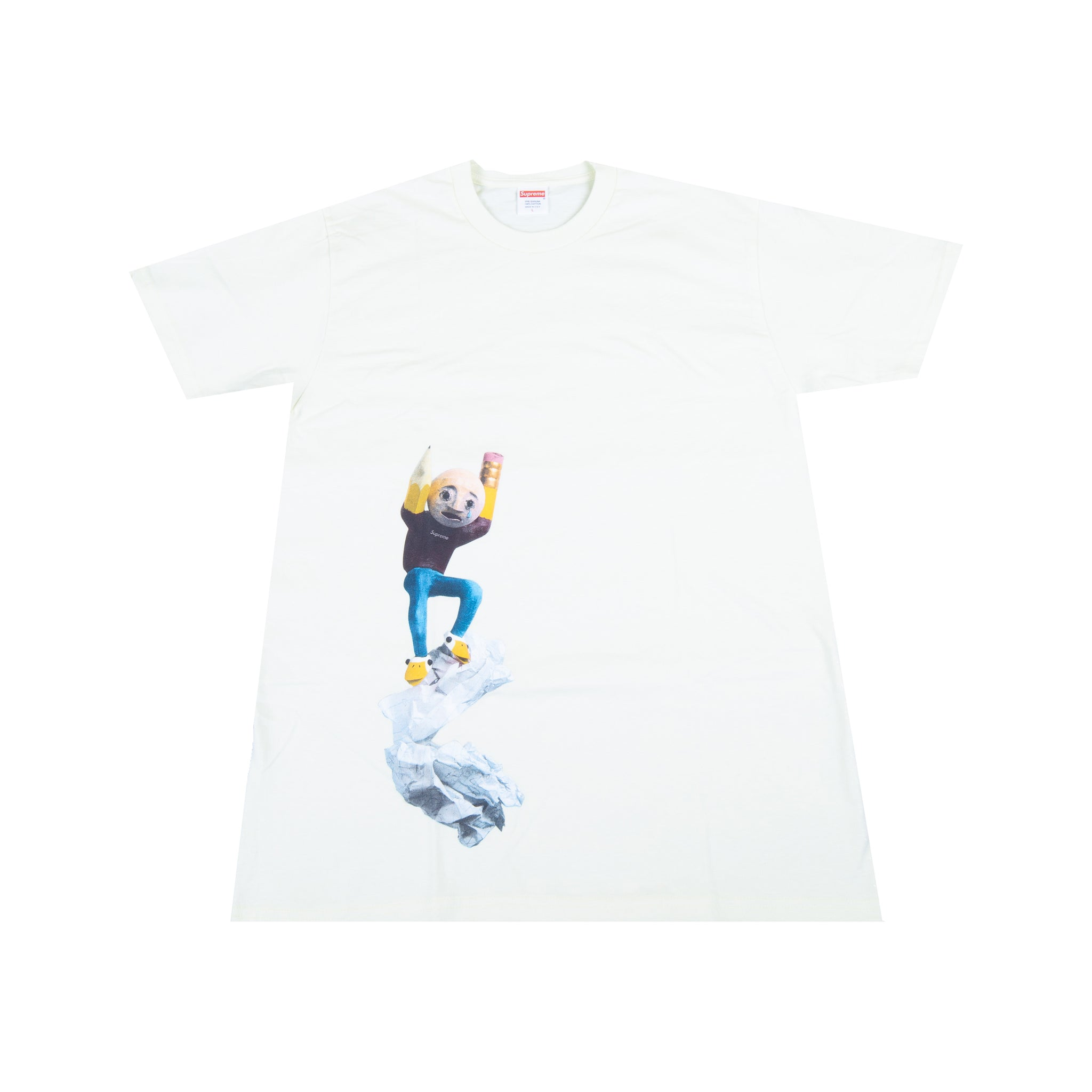 Supreme Yellow Mike Hill Regretter Tee