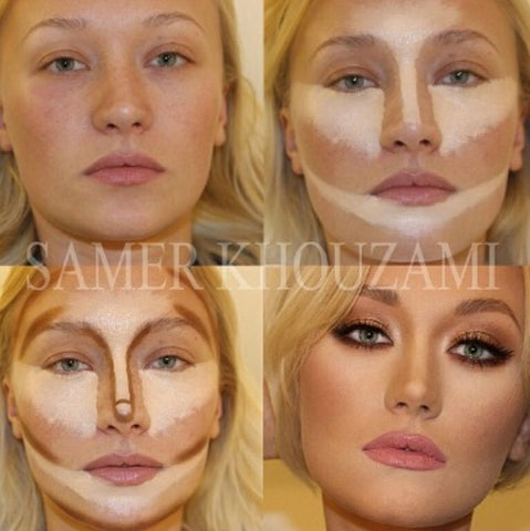 How to contour your face for beginners