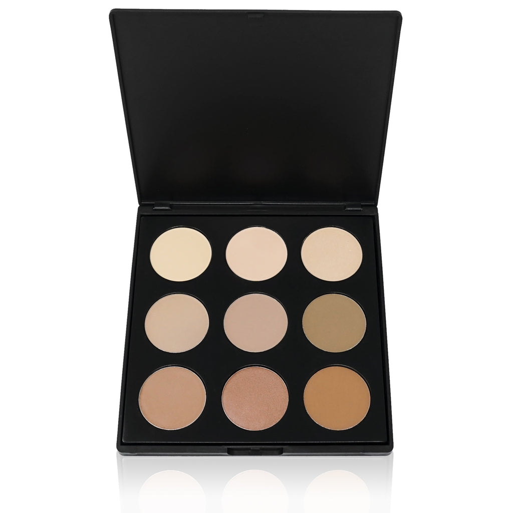 Shadow Mist Contour Palette by Bossy Girl Cosmetics Cruelty Free makeup - Affordable Makeup - Pretty Makeup - Eyeshadow Palette Bossy Girl Cosmetics- Cruelty-free beauty Makeup vegan cosmetics eyeshadow palette lipstick eyelashes tweezer Huda Sephora Ulta BHCosmetics kim kardashian