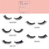 Malibu Silk Eyelash Guide by Bossy Girl Cosmetics