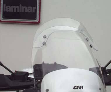 Laminar lip for BMW R850GS