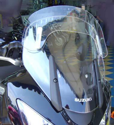Laminar Lip for Suzuki V Strom 1000 and 650 to 2011