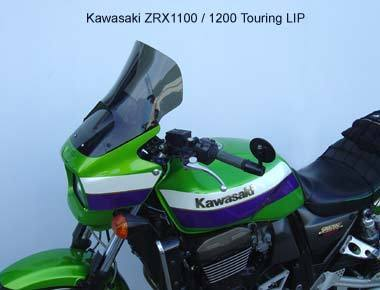 Laminar Touring Lip for Kawasaki ZRX1100 and ZRX1200 1999 - 2006