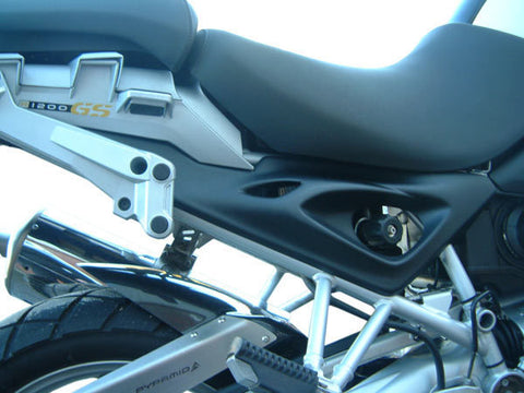 BMW R1200GS side panels in black