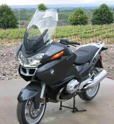 Laminar Lip for BMW R1200RT 2005-2009