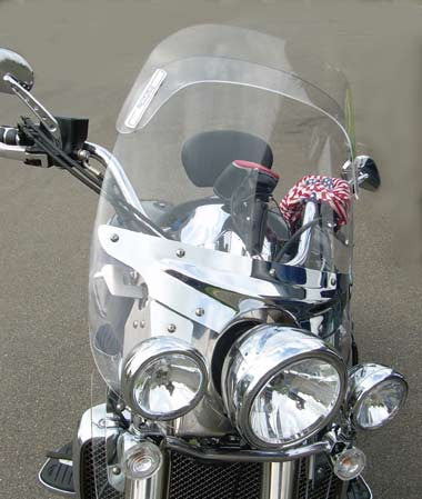 Laminar Lip for Triumph Rocket III Touring 2008 on