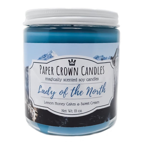 Lady of the North - Paper Crown Candles