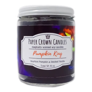 Pumpkin King - Paper Crown Candles