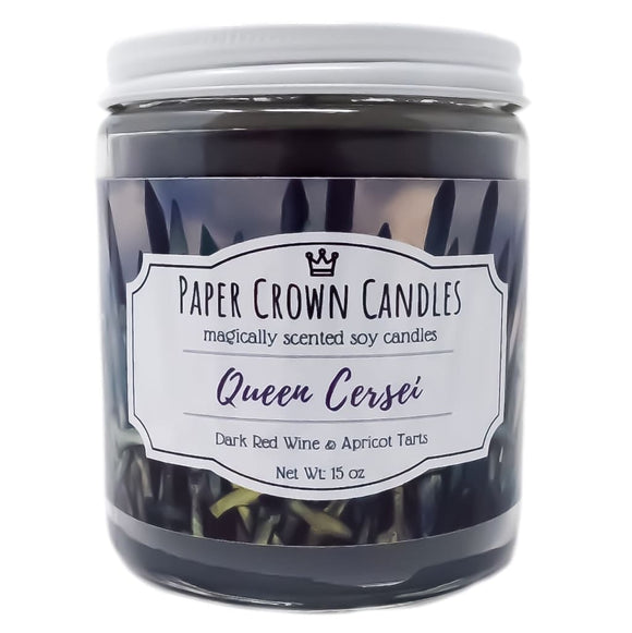 Queen Cersei - Paper Crown Candles