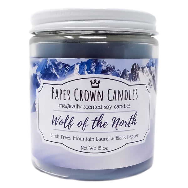 Wolf of the North - Paper Crown Candles
