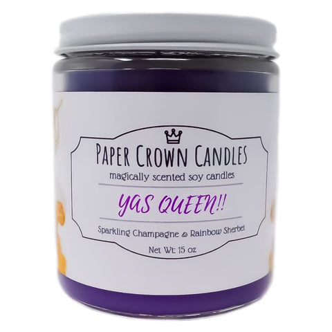 YAS QUEEN!! - Paper Crown Candles