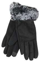 True Gear North Women's Faux Fur Gloves