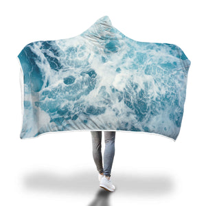 Ocean Lover Hooded Blanket