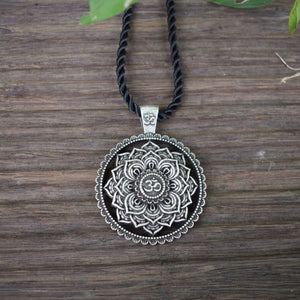 Om Mandala Necklace