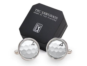 TPC SAWGRASS GOLF BALL CUFF LINKS