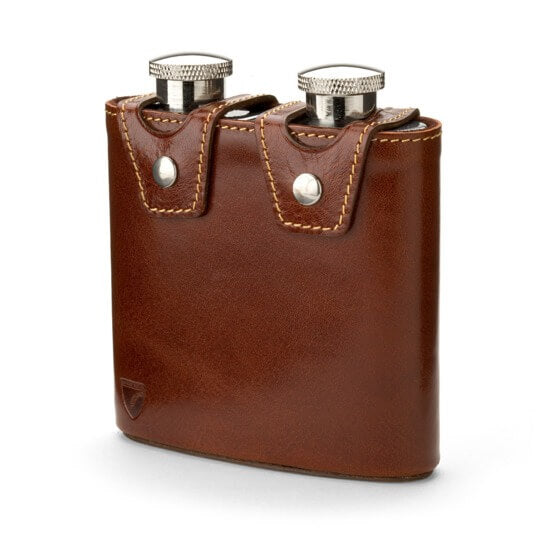 smooth brown flask