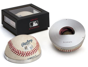 MLB-AUTHENTICATED BASEBALL OPENER/PAPERWEIGHT