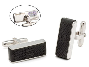 NHL PUCK  EDGE GAME-USED CUFF LINKS