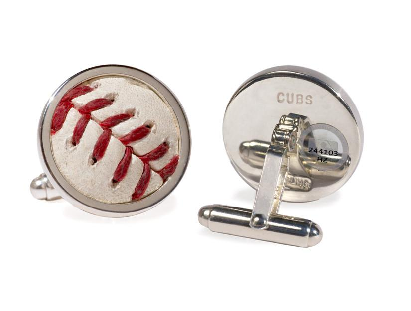 MLB-AUTHENTICATED BALL CUFF LINKS