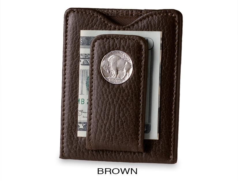 brown buffalo wallet