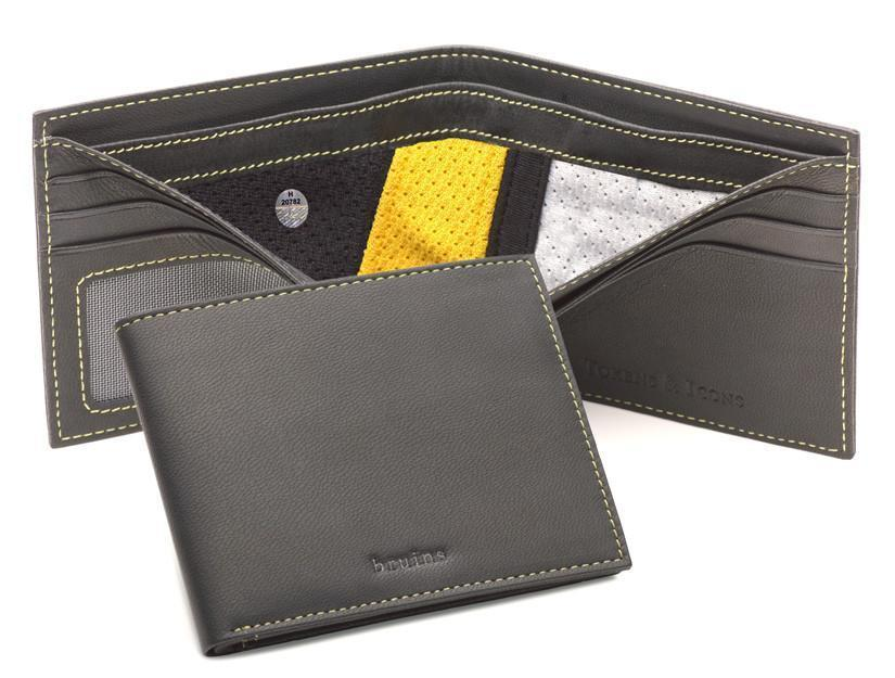 NHL-AUTHENTICATED UNIFORM JERSEY WALLET