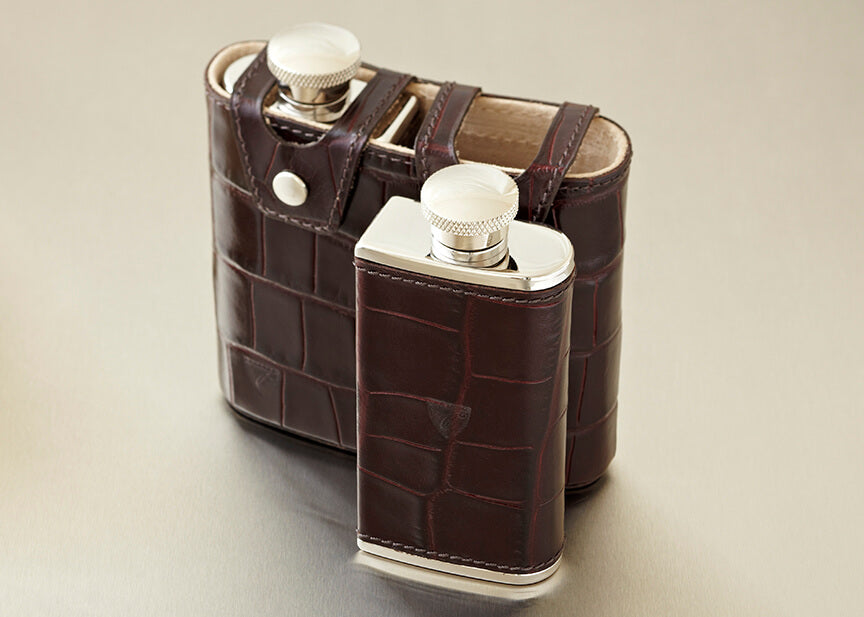 double hip flask