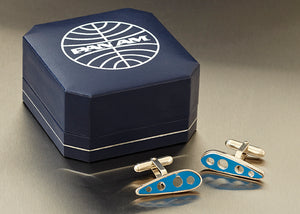 PAN AM WING RIB CUFF LINKS