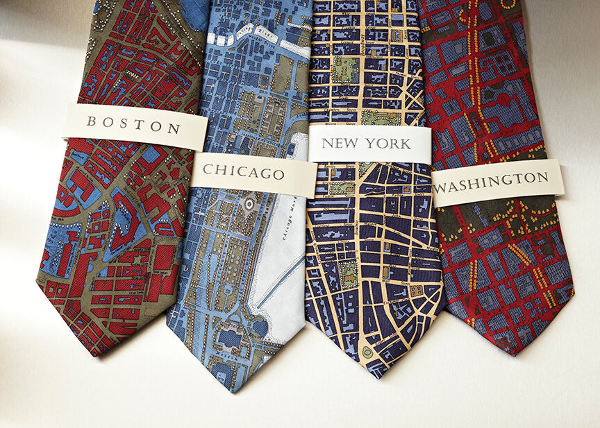 city map ties