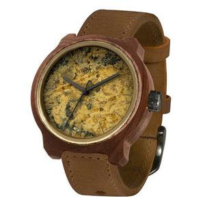 MARCO JASPER STONE WOOD WATCH