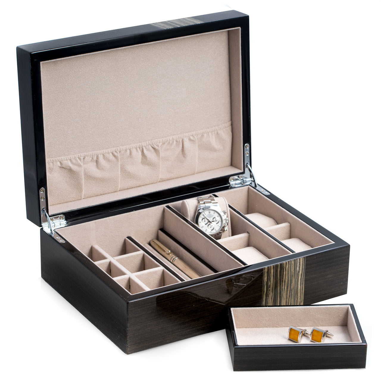 open laquerez valet box