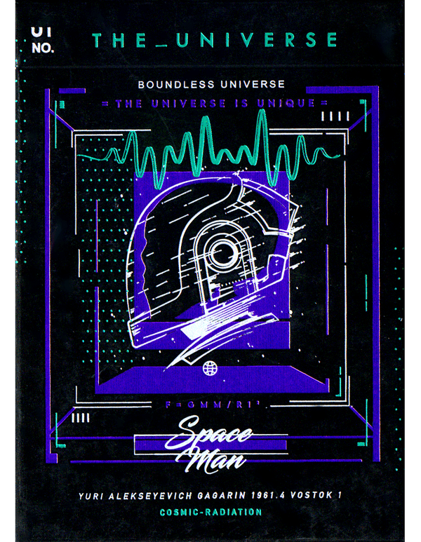 The Universe - SPACE MAN Edition (Colour Changing Box)