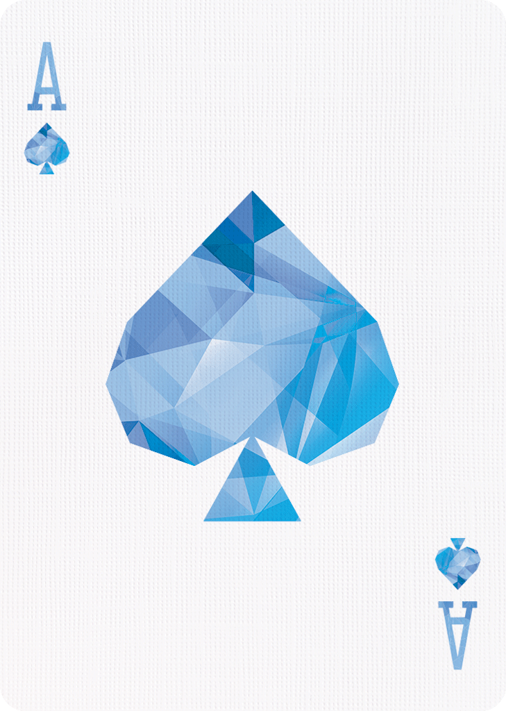 Art Of Cardistry -Blue Edition - Bocopo Playing Cards