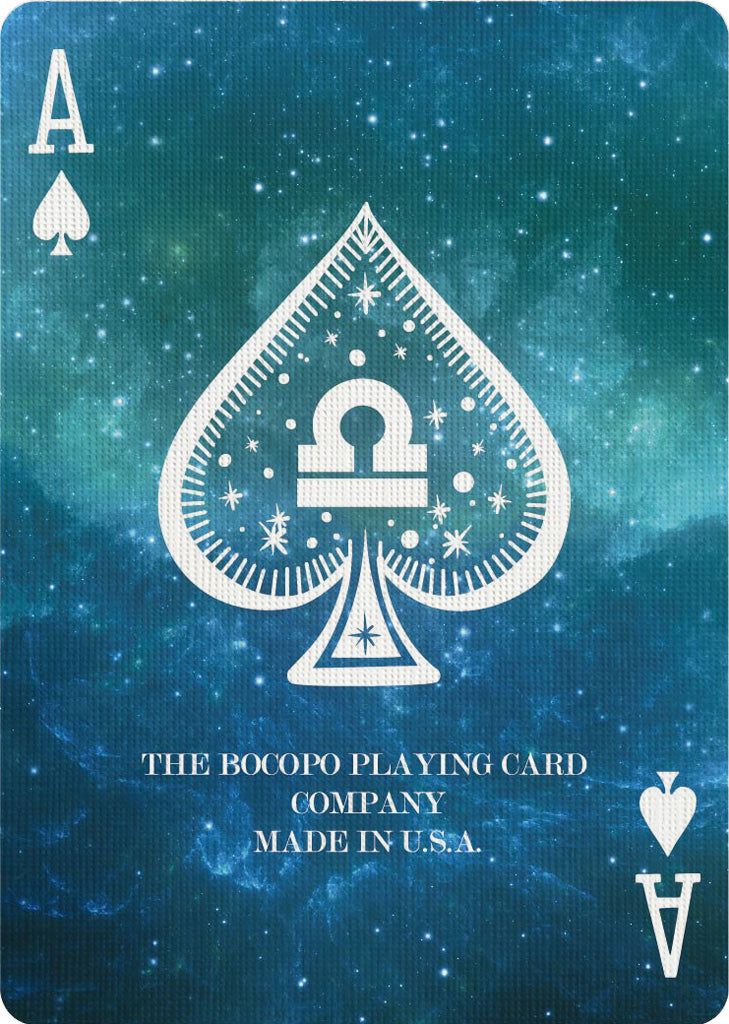 Bicycle Constellation -Libra - Bocopo Playing Cards