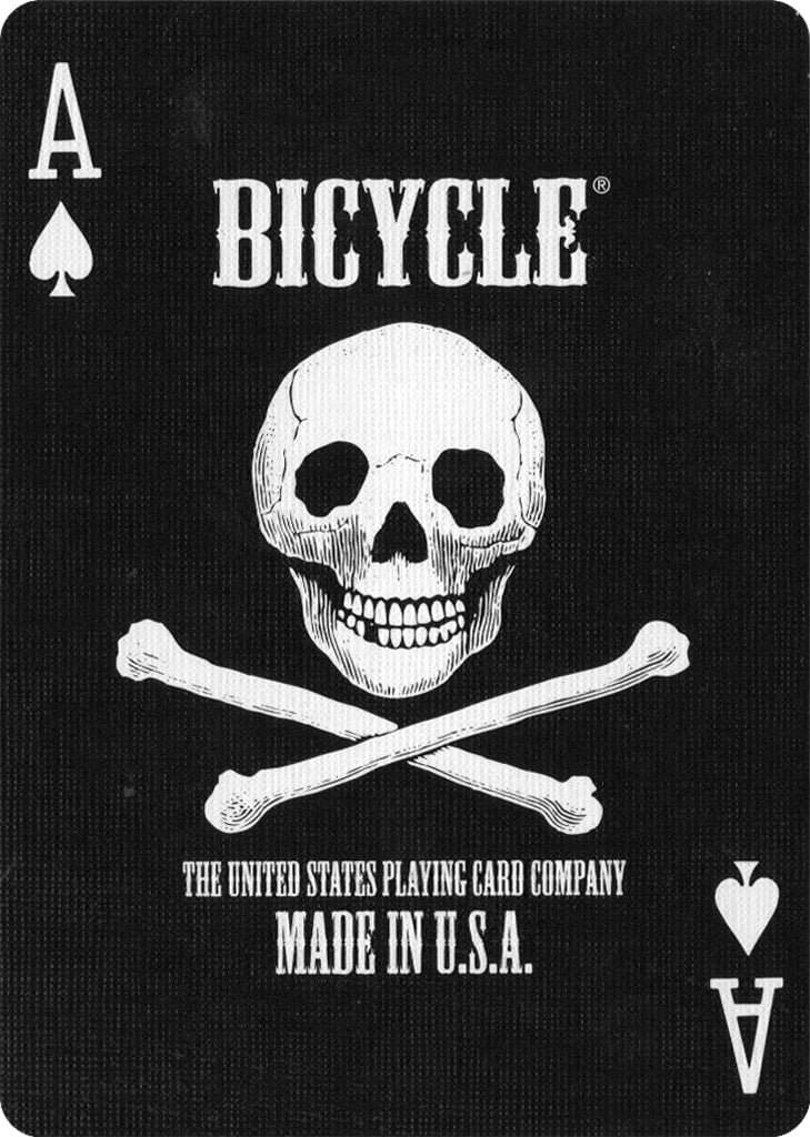 Bicycle Skull - Bocopo Playing Cards