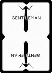 Gentleman - Bocopo Playing Cards