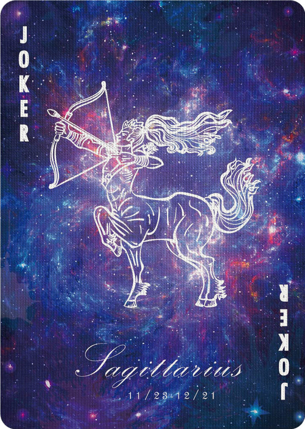 Bicycle Constellation -Sagittarius - Bocopo Playing Cards