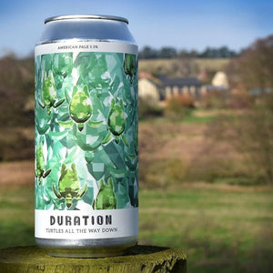 Duration - Turtles All The Way Down 440ml (5.5%) - WhataHoot Gin