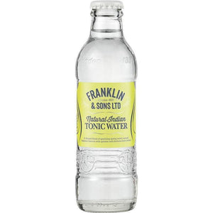 Franklin & Sons - Natural Indian Tonic Water 200ml - WhataHoot