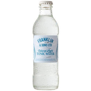 Franklin & Sons - Natural Light Tonic Water 200ml - WhataHoot Gin
