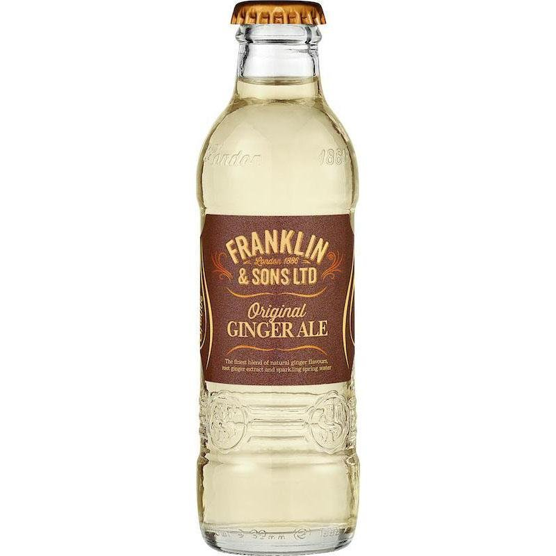 Franklin & Sons - Original Ginger Ale 200ml - WhataHoot
