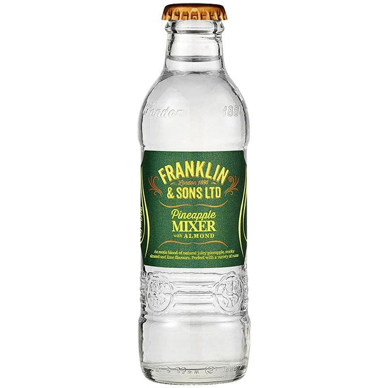 Franklin & Sons - Pineapple Mixer with Almond 200ml - WhataHoot Gin