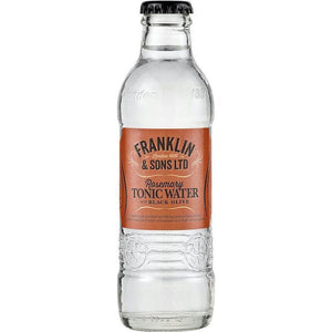 Franklin & Sons - Rosemary Tonic Water with Black Olive 200ml - WhataHoot Gin
