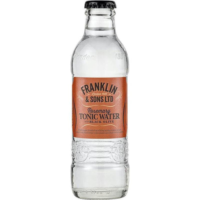 Franklin & Sons - Rosemary Tonic Water with Black Olive 200ml - WhataHoot