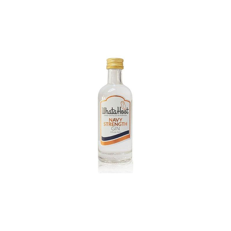 Navy Strength Gin 5cl (57% abv) - WhataHoot Gin