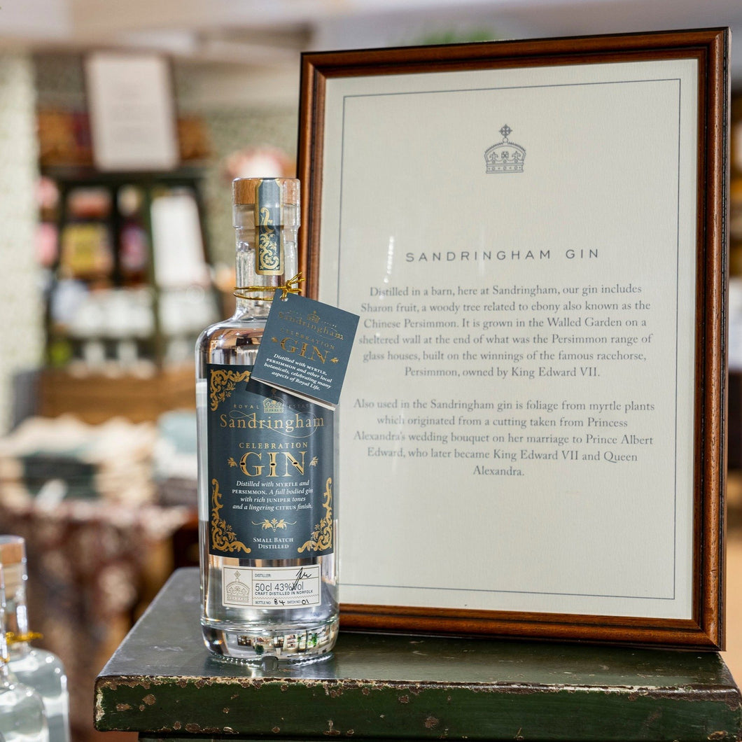 Sandringham Celebration Gin - (Sandringham Online Shop) - WhataHoot Gin